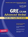 Kaplan GRE Exam Advanced Verbal Workbook 2009