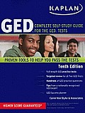 Kaplan GED Complete Self Study Guide for the GED Tests 10th Edition