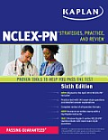 Kaplan NCLEX PN Strategies Practice & Review 6th Edition