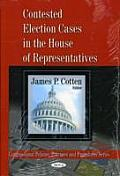 Contested election cases in the House of Representatives