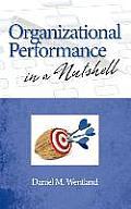 Organizational Performance in a Nutshell (Hc)