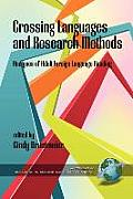 Crossing Languages and Research Methods: Analyses of Adult Foreign Language Reading (PB)