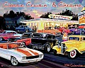 Classic Cruisin' & Chrome Wall Calendar