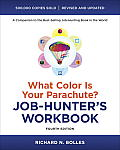 What Color Is Your Parachute? Job-Hunter's Workbook, Fourth Edition Cover