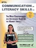 Mtel Communication and Literacy Skills 01 Teacher Certification Study Guide Test Prep (Mtel)