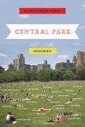 Central Park: An Anthology Cover