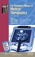 Washington Manualr Of Medical Therapeutics