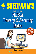 Stedman's Guide to the Hipaa Privacy & Security Rules Cover