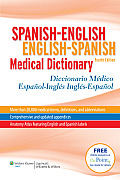Spanish-english / English-spanish Medical Dictionary (4TH 11 Edition)