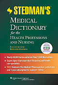 Stedman's Medical Dictionary for Health, Illustrated - With CD (7TH 12 Edition)