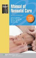 Manual of Neonatal Care [With Access Code]
