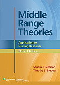 Middle-range Theories (3RD 13 Edition)