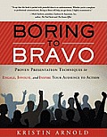 Boring to Bravo: Proven Presentation Techniques to Engage, Involve, and Inspire Your Audience to Action. (Large Print)