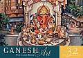 Ganesh Art Postcard Book: 32 Postcards Cover