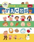 Draw + Color Fun: Faces (My First Activity Books)