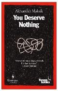 You Deserve Nothing Cover