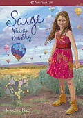 American Girl 2013 Saige 02 Saige Paints the Sky