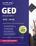 Kaplan New GED Book + Online Fully Updated for the 2014 GED