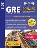 Kaplan GRE Premier 2013: With 5 Online Practice Tests + DVD [With CDROM] Cover