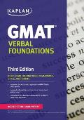 Kaplan GMAT Verbal Foundations