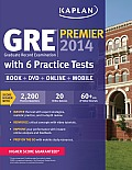 Gre Examination, 2014 Edition : Premier Program - With DVD (13 Edition)