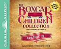 The Boxcar Children Collection Volume 39 (Library Edition): The Great Detective Race, the Ghost at the Drive-In Movie, the Mystery of the Traveling To (Boxcar Children)