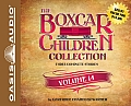 The Boxcar Children Collection Volume 14 (Library Edition): The Canoe Trip Mystery, the Mystery of the Hidden Beach, the Mystery of the Missing Cat