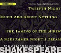 Shakespeare: The Essential Comedies, Volume 1: Twelfth Night/Much Ado about Nothing/The Taming of the Shrew/A Midsummer Night's Dream