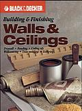 Building & Finishing Walls & Ceilings: Drywall, Paneling, Ceiling Tile, Wall Covering, Trim Moldings, Texturing