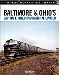 Baltimore & Ohio's Capitol Limited and National Limited Cover