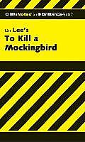 To Kill a Mockingbird (Cliffs Notes) Cover