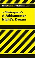 A Midsummer Night's Dream (Cliffs Notes) Cover