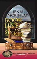 Book, Line, and Sinker (Large Print) (Library Lover's Mysteries) Cover