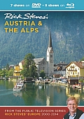 Rick Steves Austria & the Alps DVD & Blu Ray 2000 2014