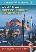 Rick Steves Greece Turkey & Portugal DVD & Blu Ray 2000 2014