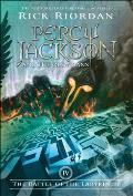 Percy Jackson & the Olympians #04: Battle of the Labyrinth Cover