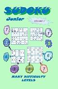 Sudoku Junior, Volume 1