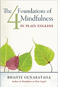The Four Foundations of Mindfulness in Plain English Cover