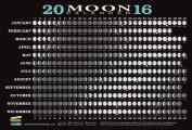 2016 Moon Calendar Card (20-Pack)