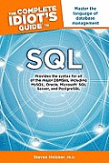 The Complete Idiot's Guide to SQL (Complete Idiot's Guides) Cover