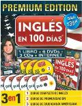 Ingles En 100 Dias [With 3 CDs and 6 DVDs and Paperback Book] (Ingles en 100 Dias)