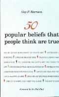 50 Popular Beliefs That People Think Are True Cover