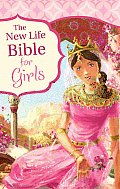 New Life Bible for Girls-NM