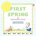 First Spring (Large Print) Cover