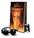 The Sea of Monsters [With Earbuds] (Playaway Children) Cover