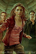 Buffy the Vampire Slayer Season 8 Library Edition Volume 4 (Buffy the Vampire Slayer) Cover