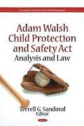 Adam Walsh Child Protection & Safety ACT