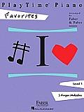 PlayTime Piano, Level 1, Favorites
