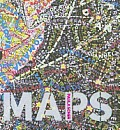 Paula Scher: Maps Cover