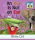 An Ear Is Not an Ear
